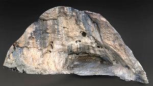 rock scanned model