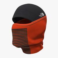 balaclava ski face mask 3D