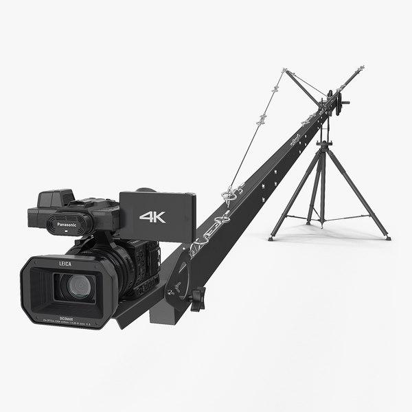 3D camera crane hd camcorder model