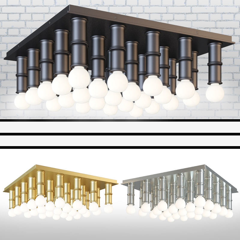 3D meurice ceiling designed model