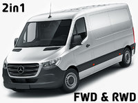 Mercedes Sprinter 2018 standard roof