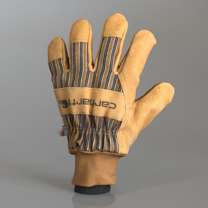 3D workman glove