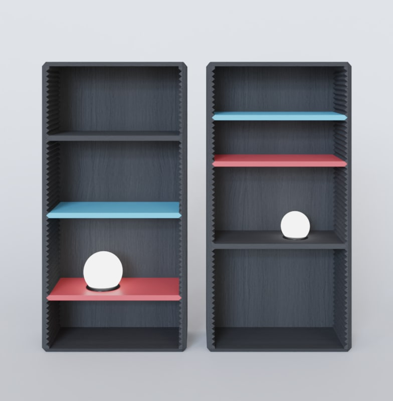 cupboard cup board 3D
