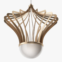 isaac light - chandelier 3D model