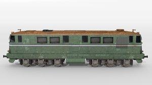romanian diesel locomotive 3D
