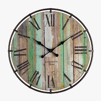 3D clayton wall clock model