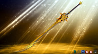Golden Fantasy Sword
