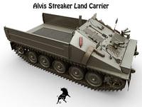 alvis streaker carrier 3D model