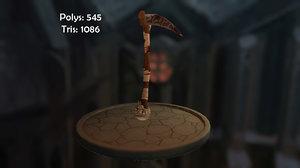 witch scythe 3D model