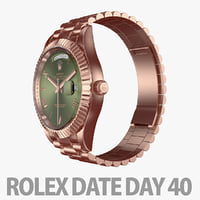 watch day rolex 3D