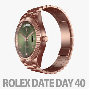 watch day rolex 3D