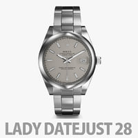 3D watch rolex datejust