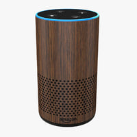 Amazon Echo New Walnut
