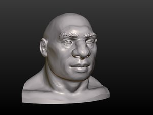 man head 3D