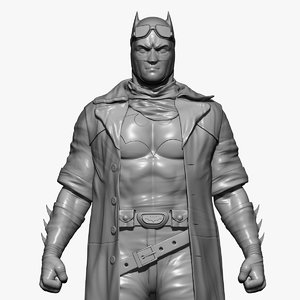 3D batman man