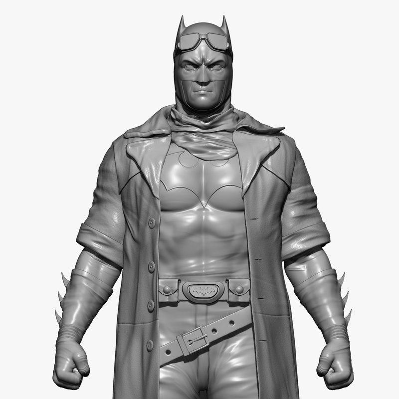 3D batman man
