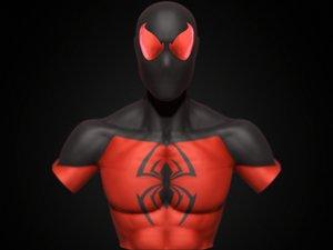 scarlet spider 3D model
