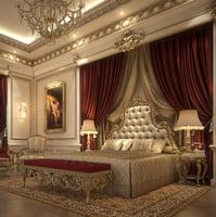 3D model classical scene