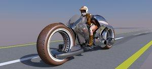 3D super bike
