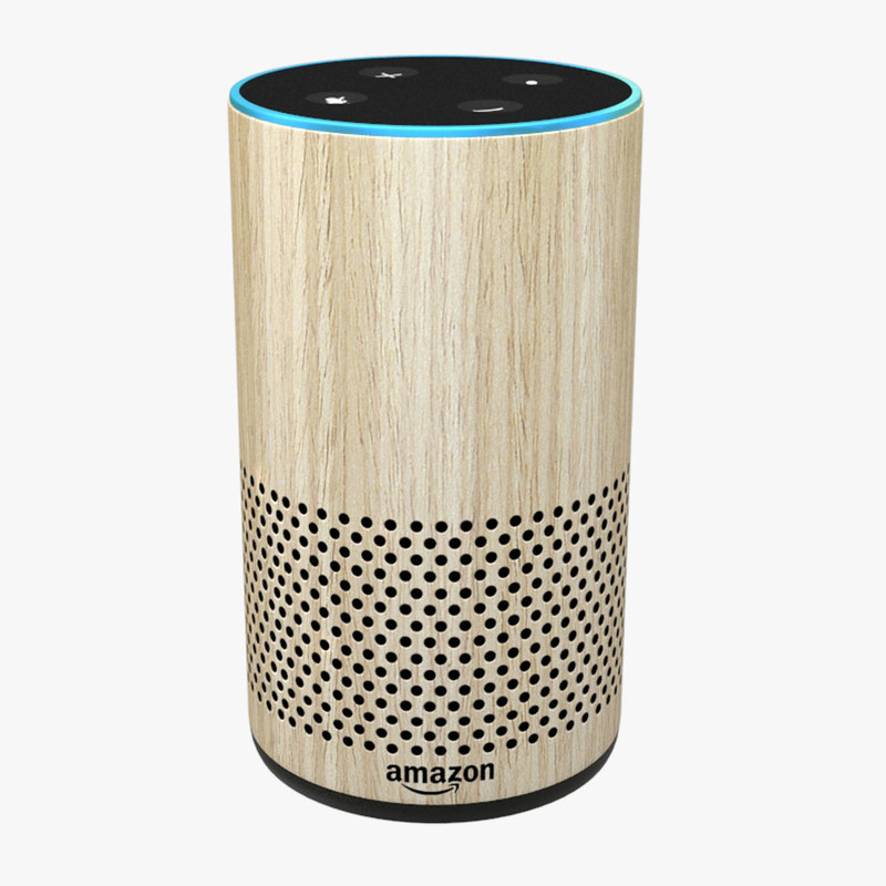 3D amazon echo oak new
