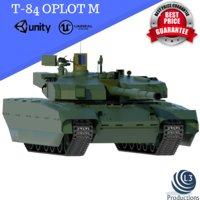 oplot t-84 m 3D model