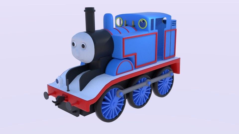 thomas train locomotive 3D