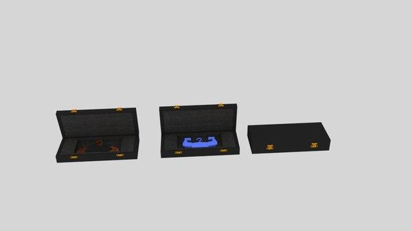 3D model hangarbox hangar box