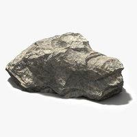3D rock editable model