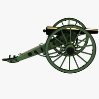 3-inch rifle war 3D