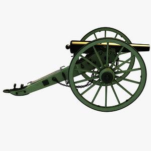 3-inch rifle war 3D