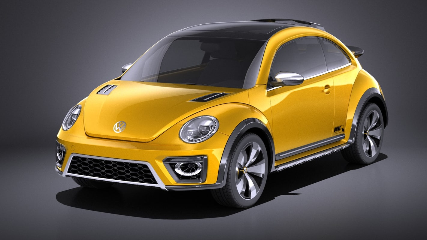 3D concept 2014 volkswagen