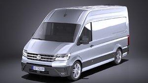 volkswagen crafter 2018 3D model