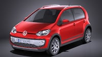 3D 2016 volkswagen cross