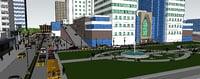 cityscape urban city 3D