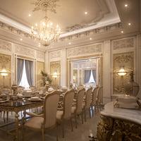 Luxury Living & Dining Room