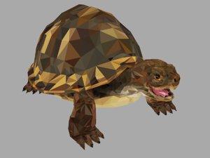 amphibian turtle art animal model