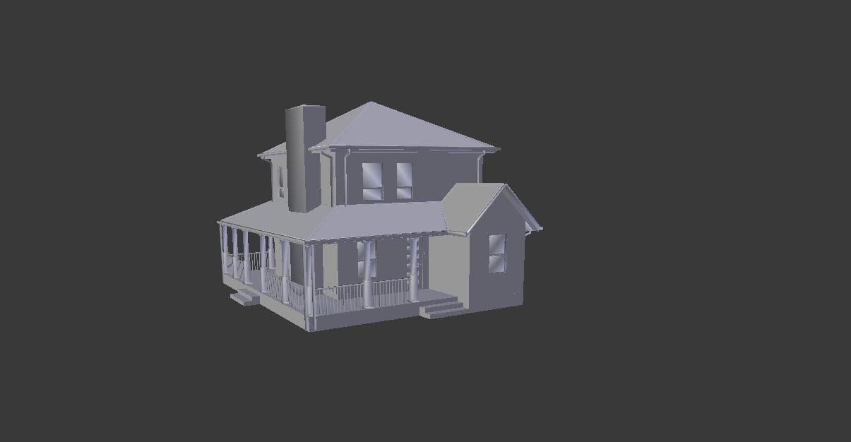 house suburban model
