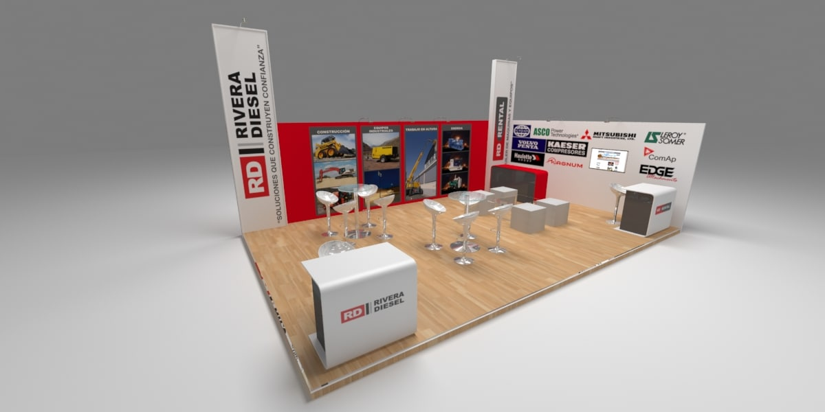 3D exhibition stands