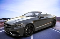 3D 2017 mercedes benz s class model