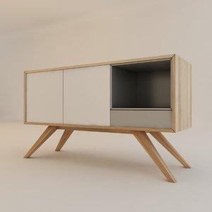 oslo sideboard 3D model