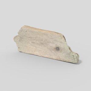 3D driftwood pbr