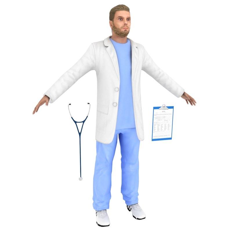 3D doctor games model