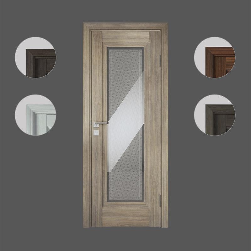 3D doors profildoors model