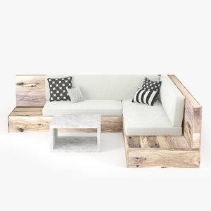 sofa table model