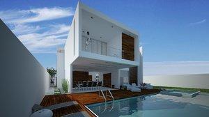 pool house 3D