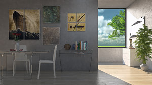 3D riflessi room