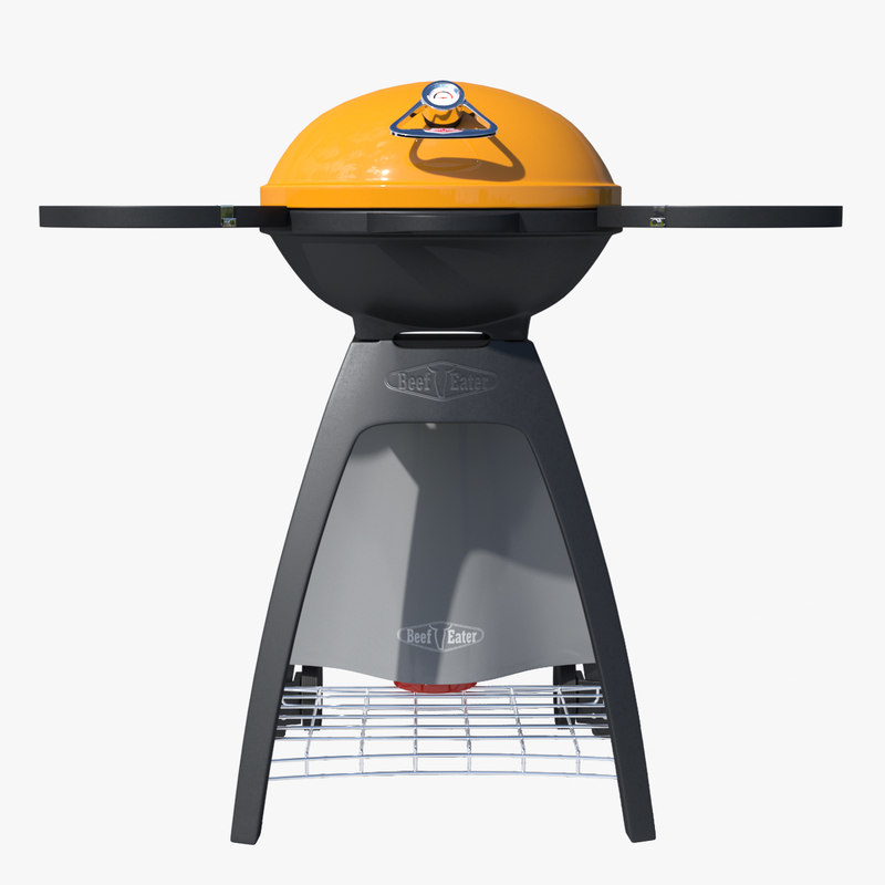 3D model barbecue