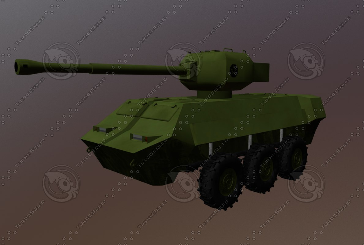 vehicle armored model