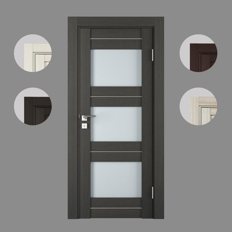 3D doors x model