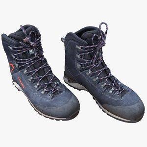 hiking boots 3D model